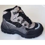 Treková obuv Te-por podšívka - šedá, vz.643