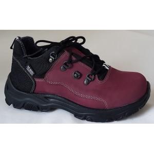 Treková obuv Te-por podšívka - bordó, vz.593
